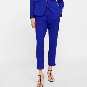 Zara Pants - ZARA BLUE ANKLE PANTS